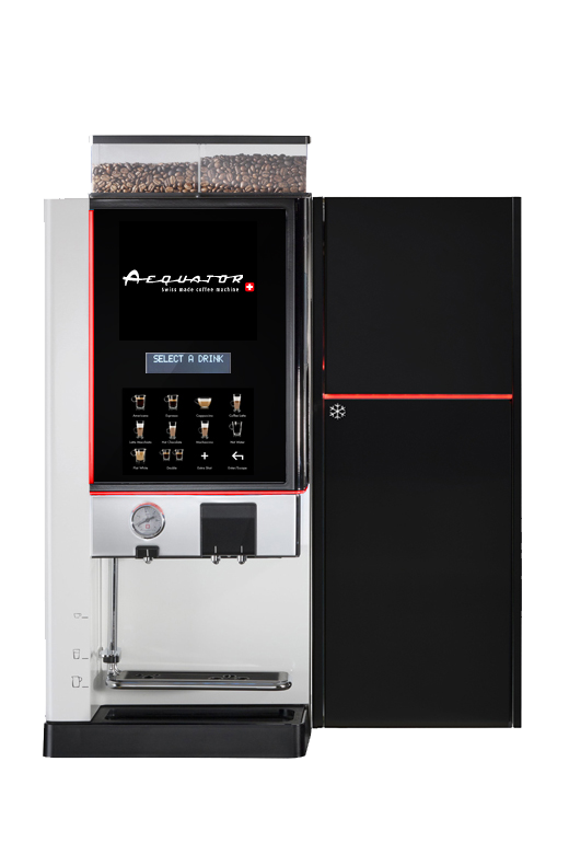 Thermo Foam Fresh Milk System Bean To Cup Coffee Machine